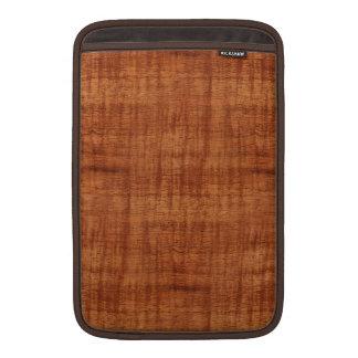 Curly Acacia Wood Grain Look MacBook Air Sleeve