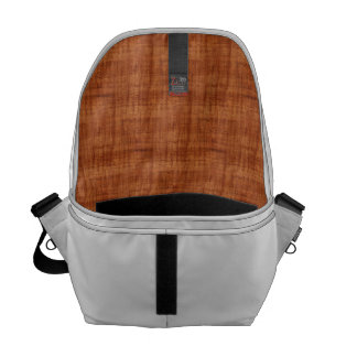 Curly Acacia Wood Grain Look Courier Bags