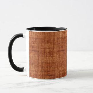 Curly Acacia Wood Grain Look Mug
