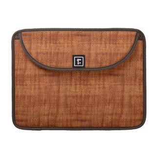 Curly Acacia Wood Grain Look Sleeve For MacBooks