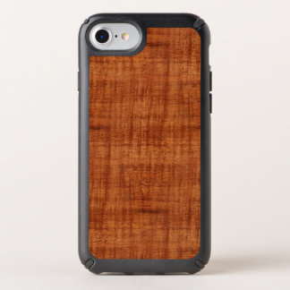Curly Acacia Wood Grain Look Speck iPhone Case