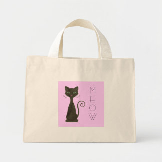 Curly Black Kitty Bag