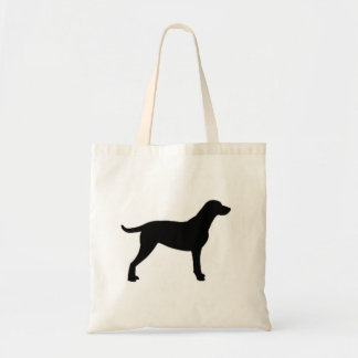 curly coat rt silo black.png tote bag