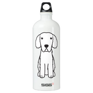 Curly-Coated Retriever Dog Cartoon SIGG Traveler 1.0L Water Bottle
