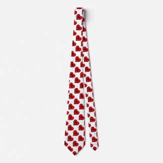 Curly Coated Retriever Heart Love Dogs Neck Tie