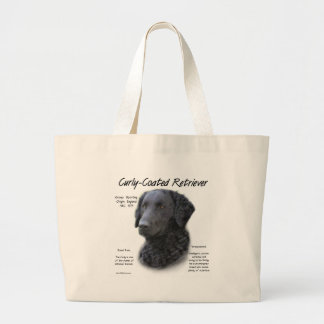 Curly-Coated Retriever History Design Bags
