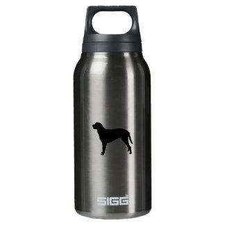 Curly Coated Retriever hunting dog Silhouette 10 Oz Insulated SIGG Thermos Water Bottle