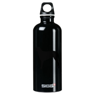 Curly Coated Retriever hunting dog Silhouette SIGG Traveler 0.6L Water Bottle