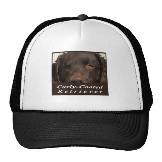 Curly-Coated Retriever Trucker Hat