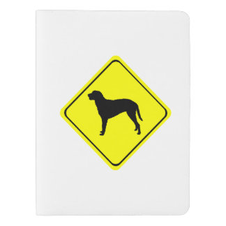 Curly Coated Retriever Warning Sign Love Dogs Extra Large Moleskine Notebook