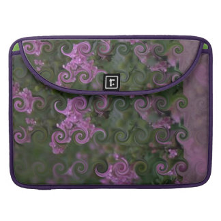 Curly-Cute floral-print elegant bold and stylish Sleeves For MacBooks