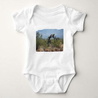 Curly Desert Tree Baby Bodysuit
