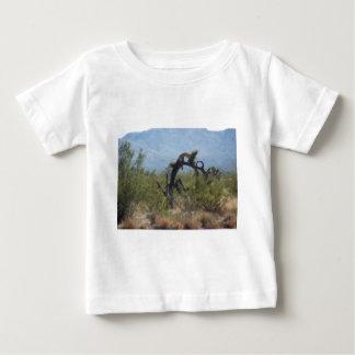 Curly Desert Tree Baby T-Shirt