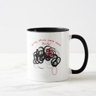 curly girls mug