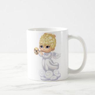 Curly Hair Angel Mug