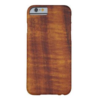 Curly Hawaiian Koa Wood Style  Barely There iPhone 6 Case