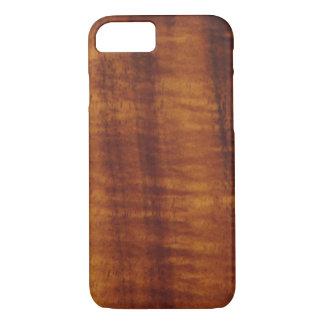 Curly Hawaiian Koa Wood Style  iPhone 8/7 Case