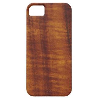 Curly Hawaiian Koa Wood Style iPhone SE/5/5s Case