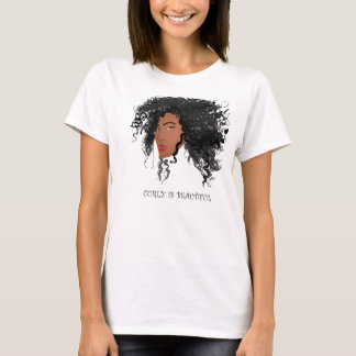 Curly is Beautiful! T-Shirt