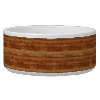 Curly Koa Acacia Wood Grain Look Bowl
