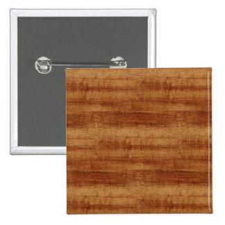 Curly Koa Acacia Wood Grain Look Button