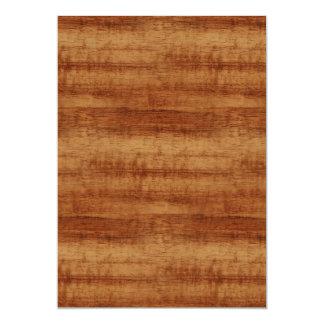 Curly Koa Acacia Wood Grain Look Card