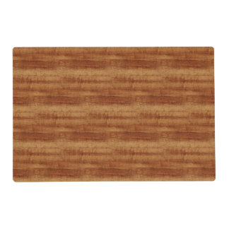 Curly Koa Acacia Wood Grain Look Placemat