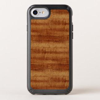 Curly Koa Acacia Wood Grain Look Speck iPhone Case