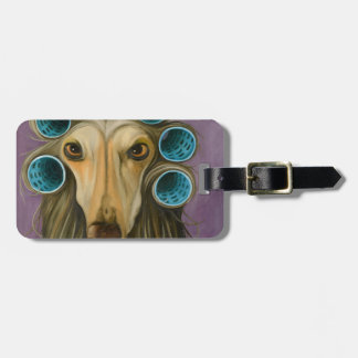 Curly Luggage Tag