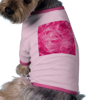 Curly Pink Hair Doggie Tee