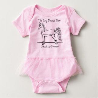 Curly Princess Pony Found Her Princess Baby Bodysuit