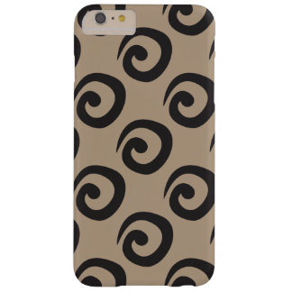 Curly Ques Modern Swirl Pattern Barely There iPhone 6 Plus Case