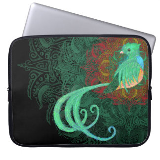 Curly Quetzal Computer Sleeve