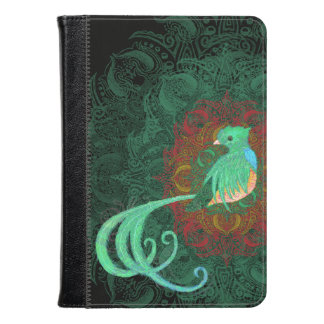 Curly Quetzal Kindle Case