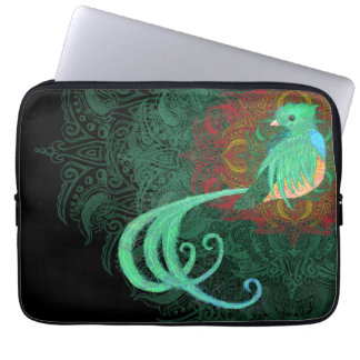 Curly Quetzal Laptop Sleeve