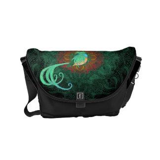 Curly Quetzal Small Messenger Bag