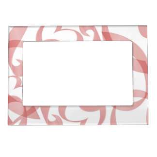 Curly Ribbons Magnetic Picture Frame