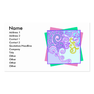 Curly Swirly Business Cards