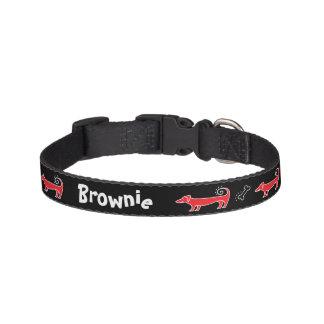 Curly Tail Dog & Bone Dog Collars