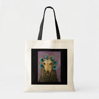 Curly Tote Bag