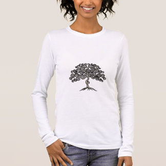 Curly Tree Long Sleeve T-Shirt