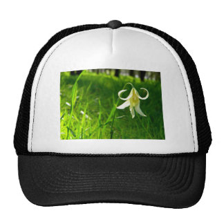 Curly Yellow Trucker Hat