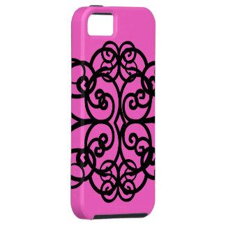 Curlz - Girlie Pink iPhone 5 Case
