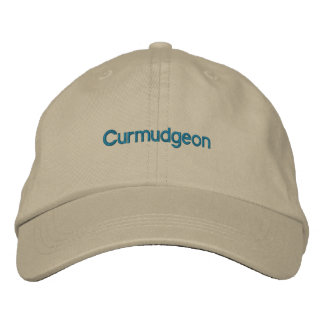 Curmudgeon Embroidered Baseball Hat