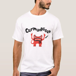 Curmudgeon fathers day t shirt - light color