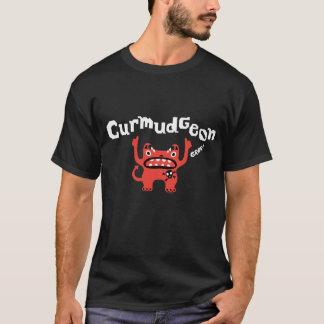 Curmudgeon fathers day t shirt - on dark