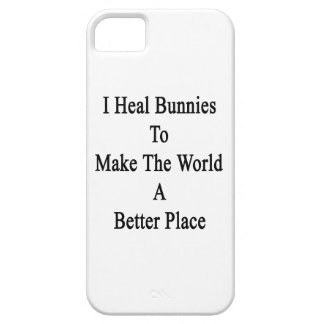 Curo conejitos para hacer el mundo un mejor lugar iPhone 5 Case-Mate cobertura
