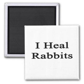 Curo conejos iman