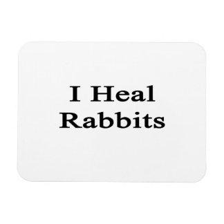 Curo conejos imanes rectangulares