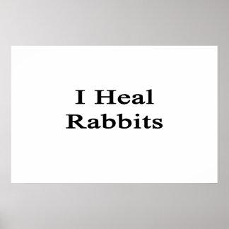 Curo conejos impresiones